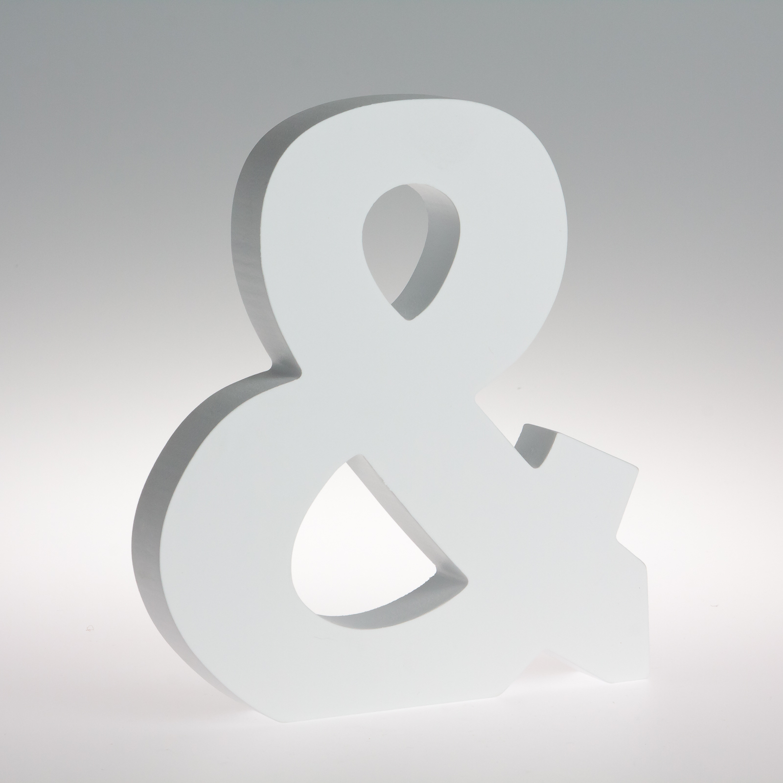 18cm - White Wooden Letters by Splosh / Peace & Thyme-396