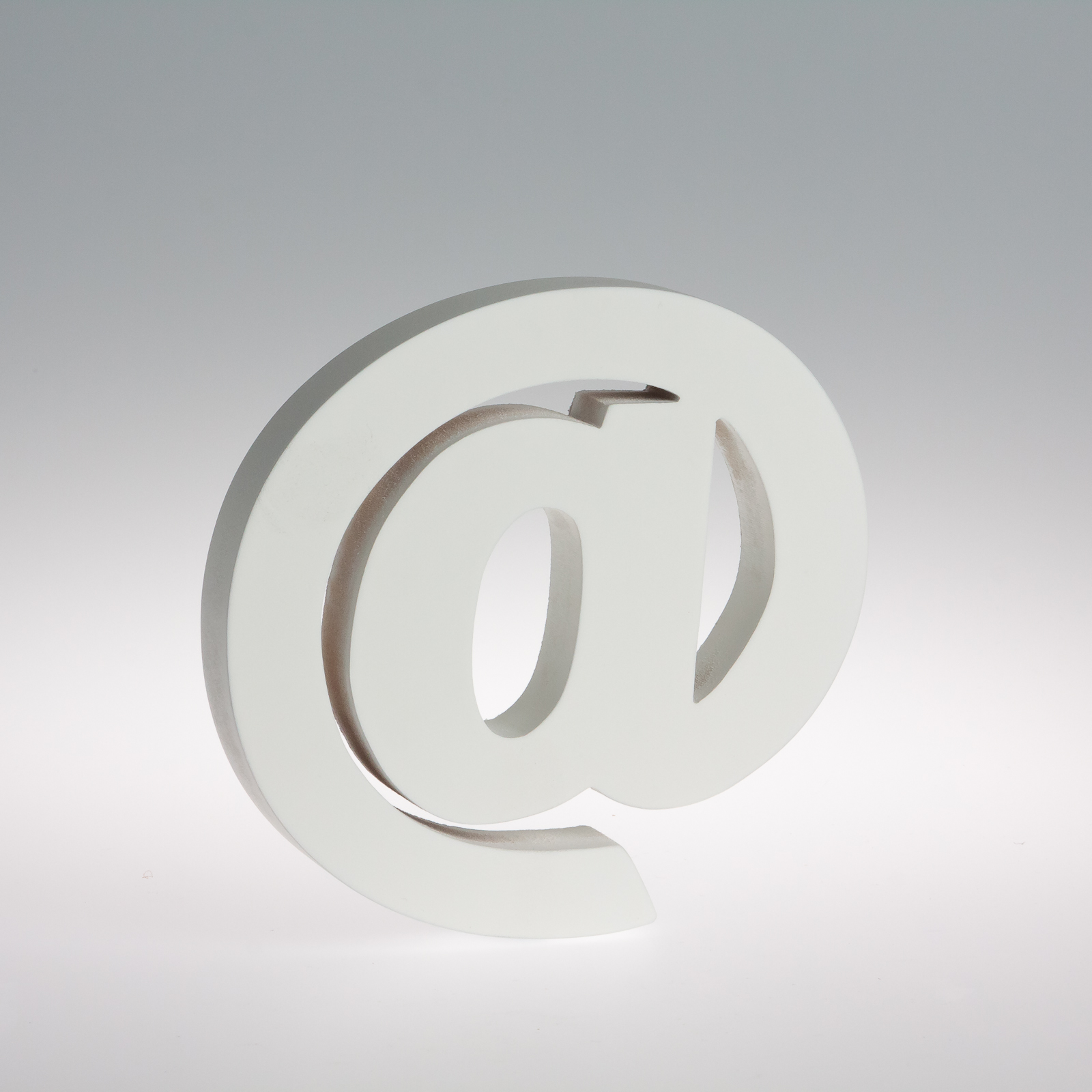 18cm - White Wooden Letters by Splosh / Peace & Thyme-395