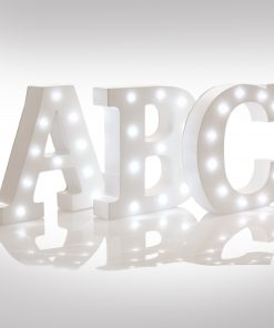 Light Up - Up in Lights Alphabet Letter (Upper Case)-0