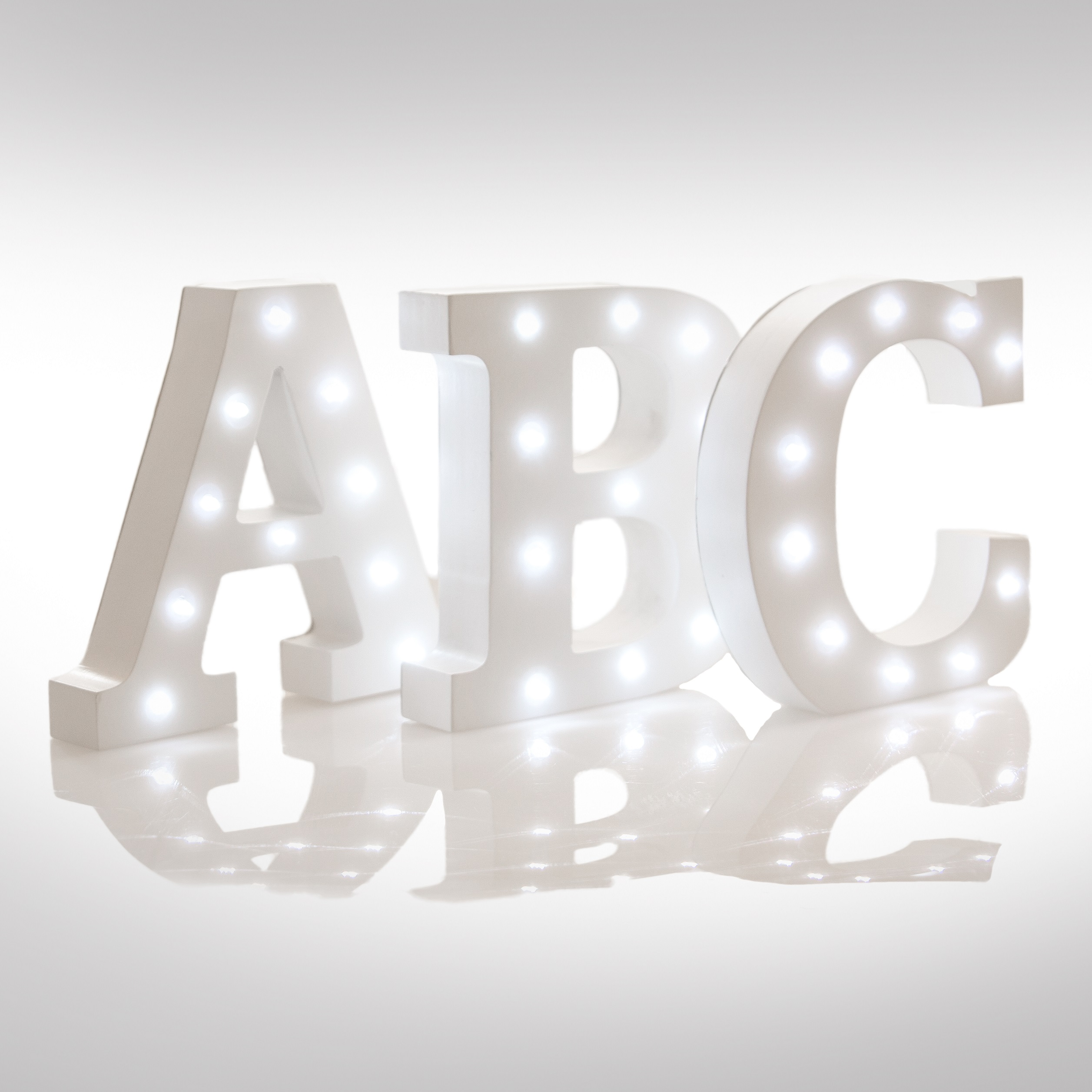 Light Up – Up in Lights Alphabet Letter (Upper Case)-0