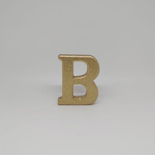 gold glitter letters