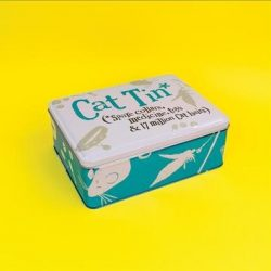 The Bright Side Cat Accessories Tin