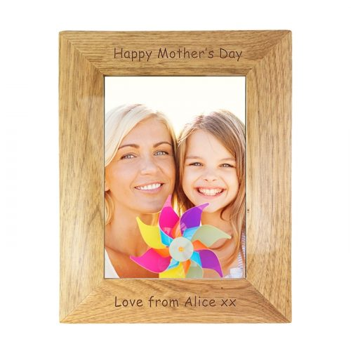 Personalised Wooden Photo Frame for any Occasion 5x7