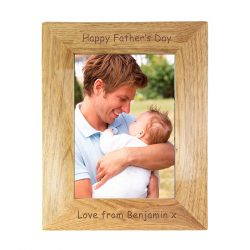 Personalised 5x7 Wooden Photo Frame for any ocassion -1519