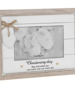 Provence Sentiment Christening Photo Frame