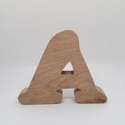 Oak Letter (8cm)-0