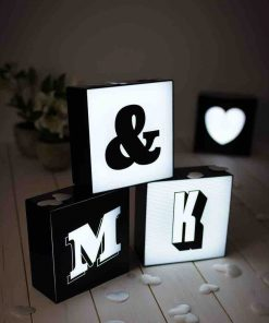 Alphabet Letter Light Up Lightbox