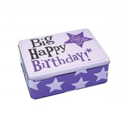 Bright Side Big Happy Birthday Storage Tin