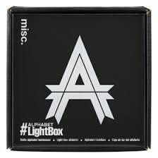 Light Up - Alphabet Letter Lightbox -0