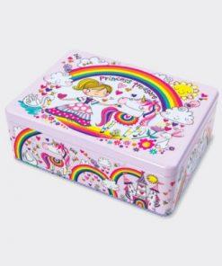 Princess Treasure Kids Storage Tin