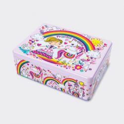 Princess Treasure Kids Storage Tin