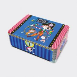 Pirate Treasure Kids Storage Tin
