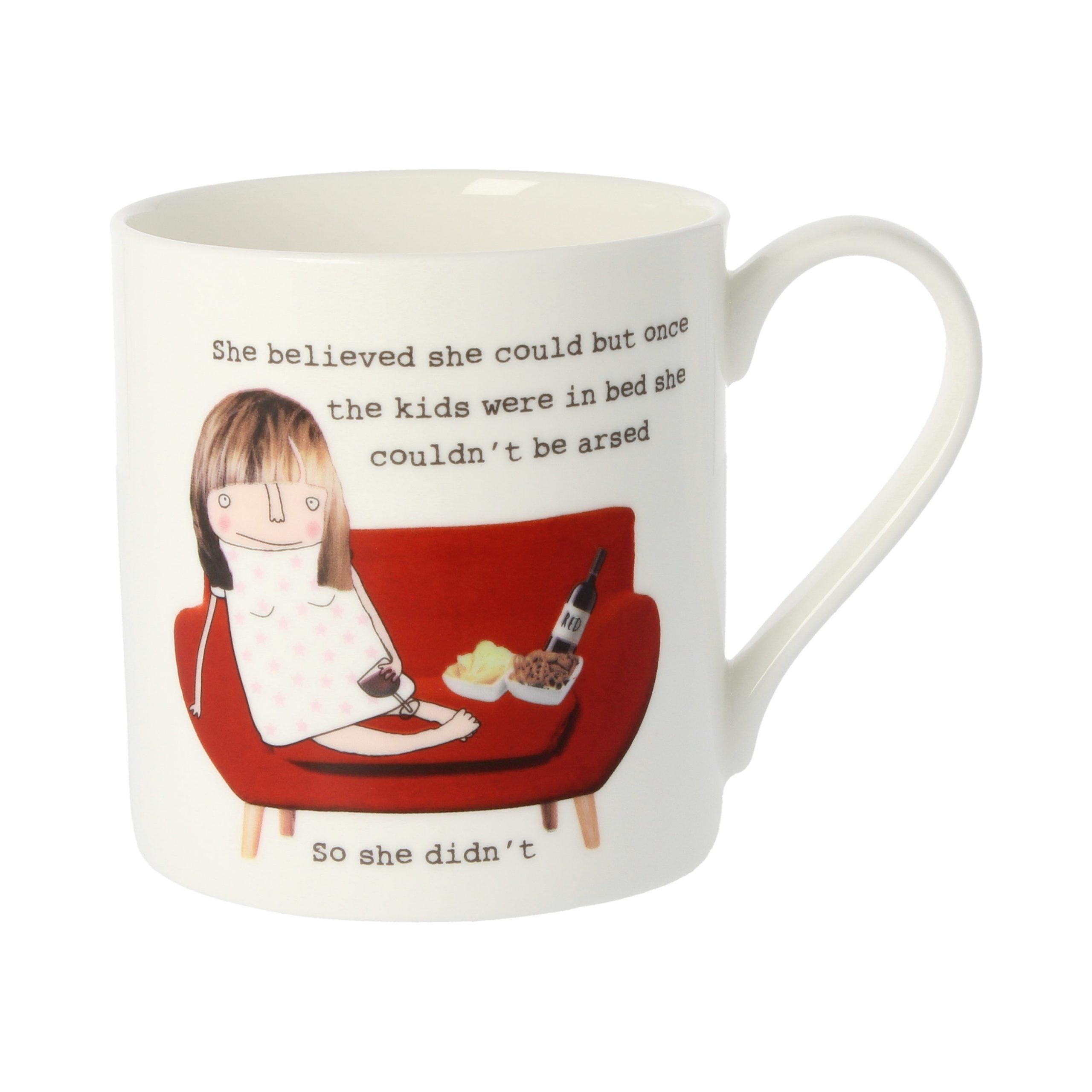 Quite Big Mug She believed she could……..-0