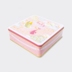Baby Girl Keepsake Storage Tin