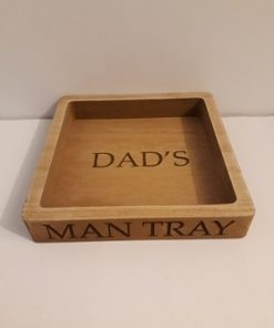 Dad's Man Tray-0