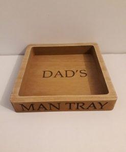 Dad's Man Tray-0