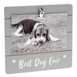 Best Dog Ever Grey Cutie Clip Photo Frame