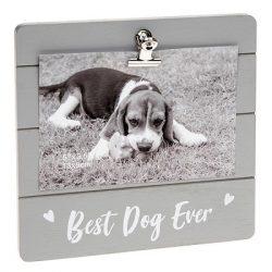 Best Dog Ever Grey Cutie Clip Photo Frame