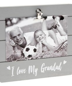 Grandad Grey Cutie Clip Photo Frame