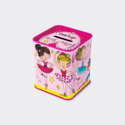 Ballerina Money Box Back