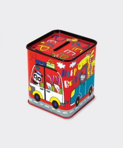 Beep Beep Cars Money Box-Back