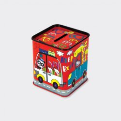 Beep Beep Cars Money Box-Back