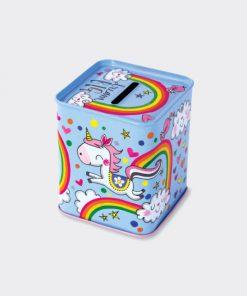 Unicorn Money Box Back
