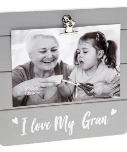 Gran Grey Cutie Clip Photo Frame
