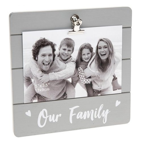 Our Family Clip Picture Frame-0