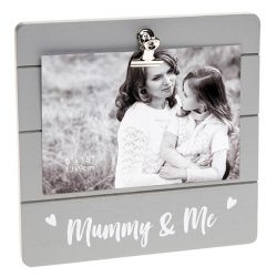 Mummy & Me Grey Cutie Clip Photo Frame