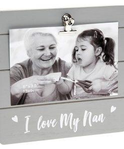 Nan Grey Cutie Clip Photo Frame