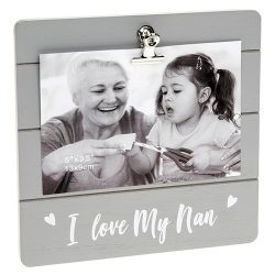 Nan Grey Cutie Clip Photo Frame