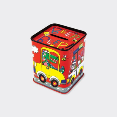 Beep Beep Cars Money Box