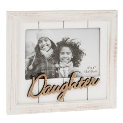 One Word Photo Frame Daughter