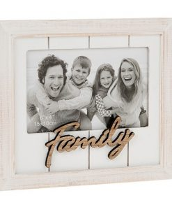 One Word Photo Frame Family