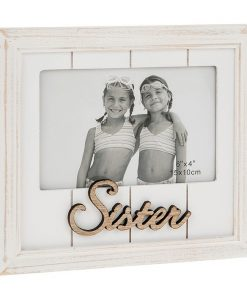 One Word Photo Frame Sister
