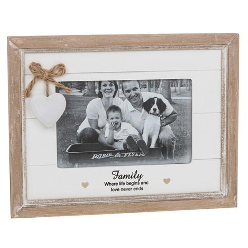Provence Sentiment Family Photo Frame