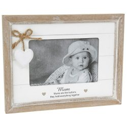 Provence Sentiment Mum Photo Frame