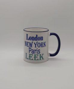 London New York Paris Mug