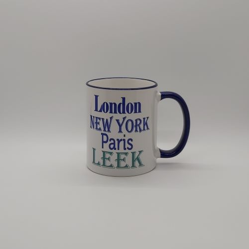 London New York Paris Mug