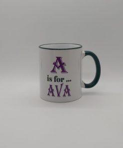 Any Letter Any Name Mug A1