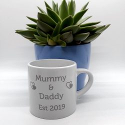 The Est. Mug Personalised Double Name & Date