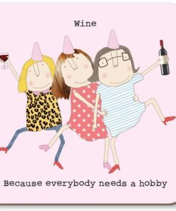 Wine Hobby Coaster
