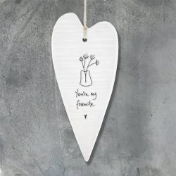 East Of India My Favourite Elegant Porcelain Heart