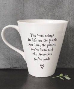 East Of India People Places Porcelain Mug