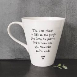 East Of India People Places Porcelain Mug