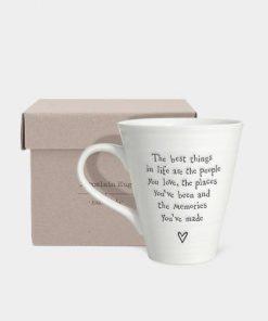 East Of India People Places Porcelain Mug Box