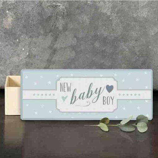 East of India Baby Boy Keepsake Box