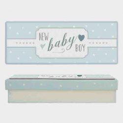 East of India Baby Boy Keepsake Box White