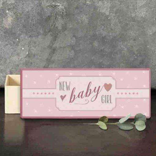 East of India Baby Girl Keepsake Box